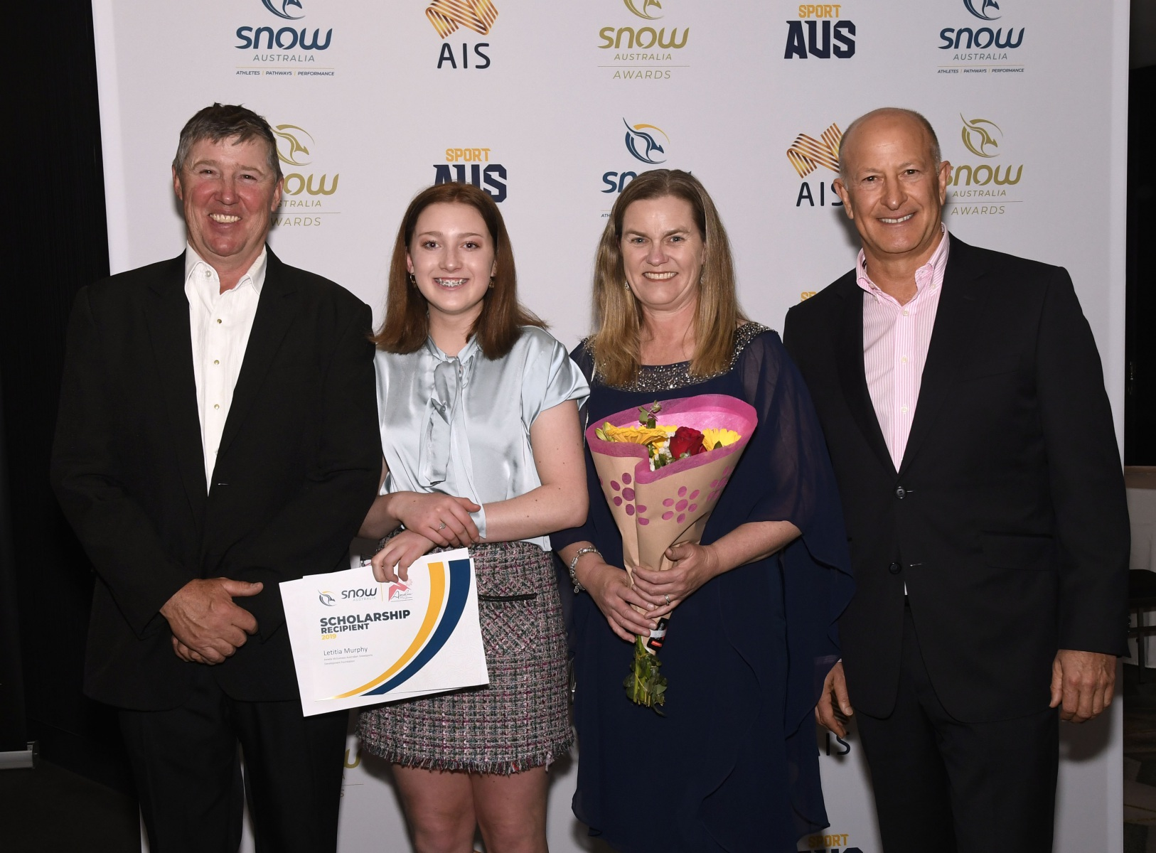 Amelia McGuiness Australian Snowsports Development Foundation scholarship awards at QT Canberra, Thursday November 7, 2019. Photo Steve Cuff.