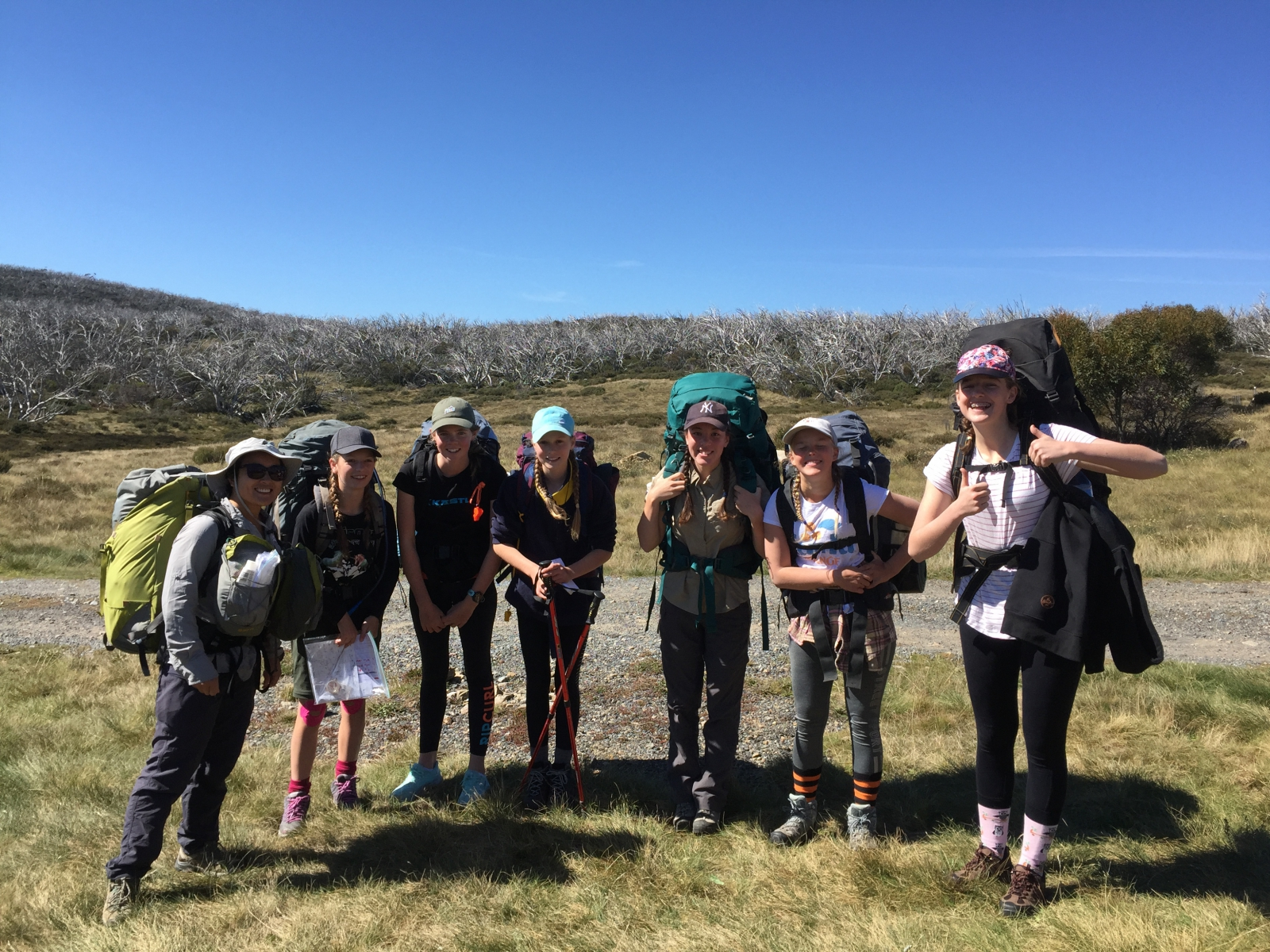 Hiking Group 1