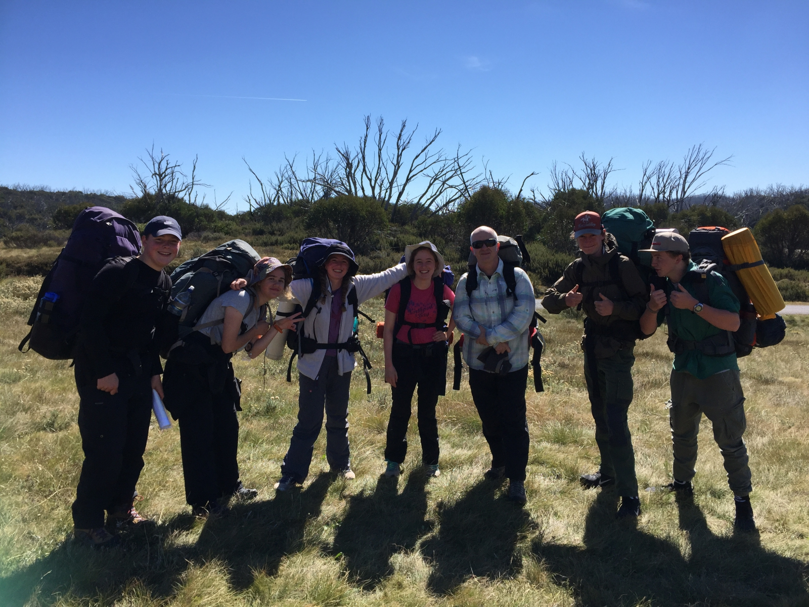 Hiking Group 3