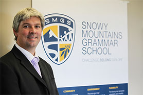 SMGS Principal Mr Andrew Bell