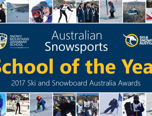 SMGS Announced as Australian Snowsports School of the Year at the 2017 Ski and Snowboard Australia Awards