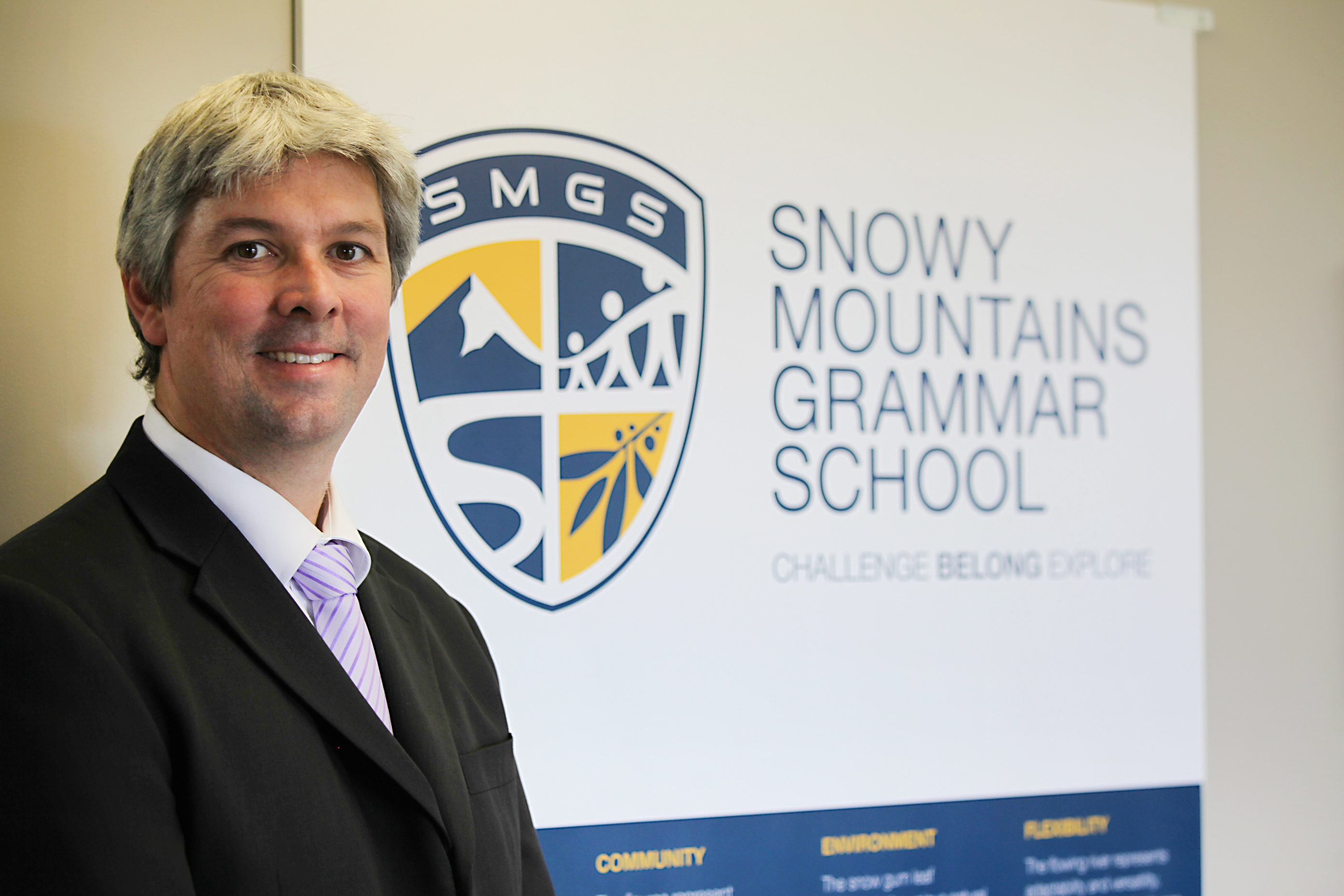 SMGS Principal - Andrew Bell