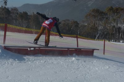 Shredlands - Steph Peterson (Year 8) 1st
