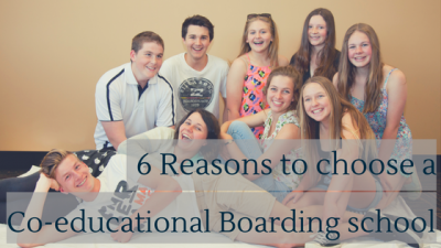 6 Reasons to choose Co-Educational Boarding