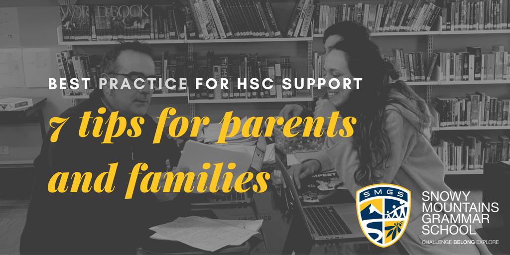 HSC Tips
