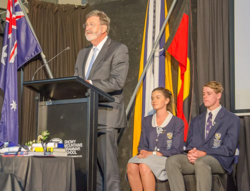 Speech Day 2016 – Words from the Chairman of the Board, Michael Jones