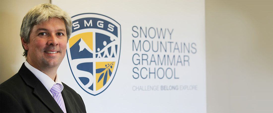 SMGS Principal - Mr Andrew Bell