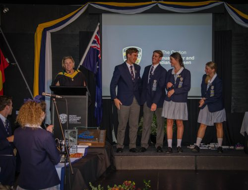 The Oration – SMGS 2017 School Captains' Final Address