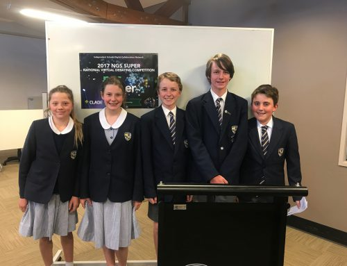 SMGS Stage 4 debating team places 3rd in Australia