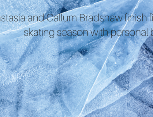 Anastasia and Callum Bradshaw finish figure skating season with personal bests