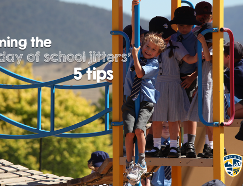 Calming the first day of school jitters – 5 tips