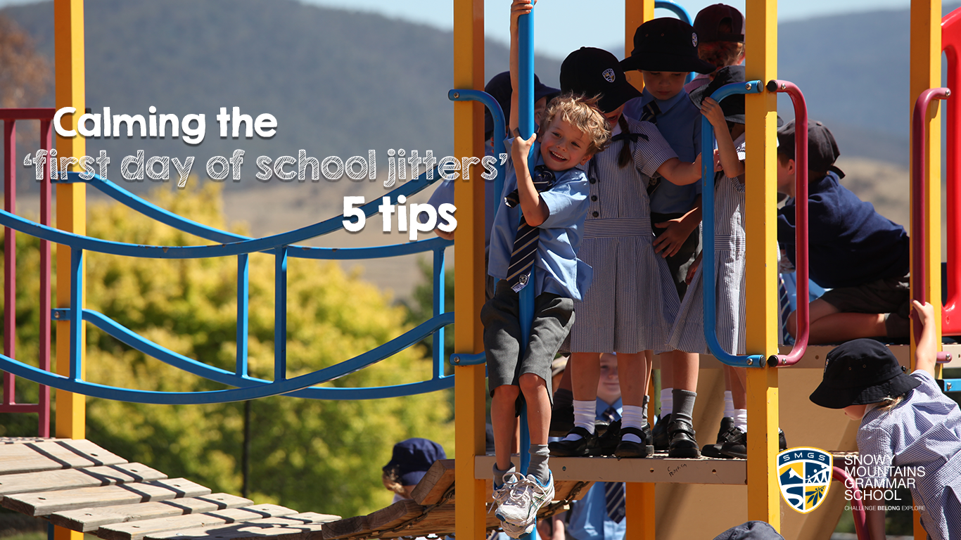 SMGS 5 Tips for the first day of school