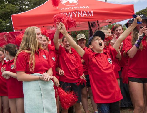 Team spirit makes a splash at SMGS Swim Carnival