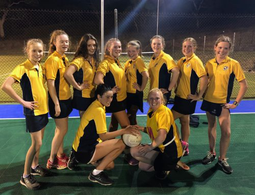 SMGS Netball Team heading for Grand Finals!
