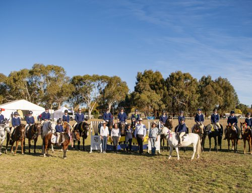 SMGS equestrian team shines at the 21st SMIEC event