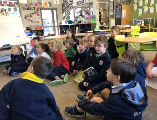SMGS joins 8255 schools across Australia for National Simultaneous Storytime 2018