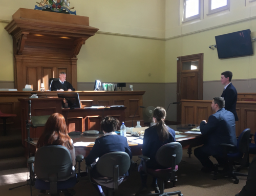 Year 11 Legal Studies Excursion to the Cooma Courthouse for Law Week