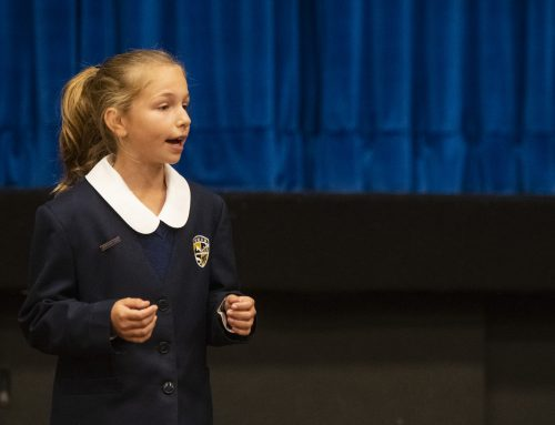 Year 6 Student, Emily Willsmer, advances to semi-finals in the Rostrum Public Speaking ACT Competition