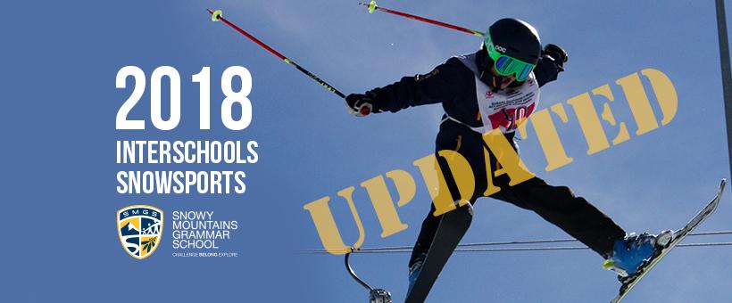 2018 SMGS Interschools Snowsports