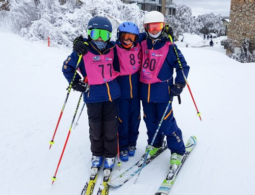Racer ready…SMGS ready to kick off the 2018 snowsports competition season with the Scots Race and Redlands Cup