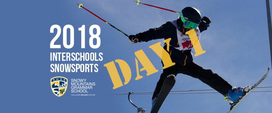 SMGS Regional Interschools Snowsports Day 1