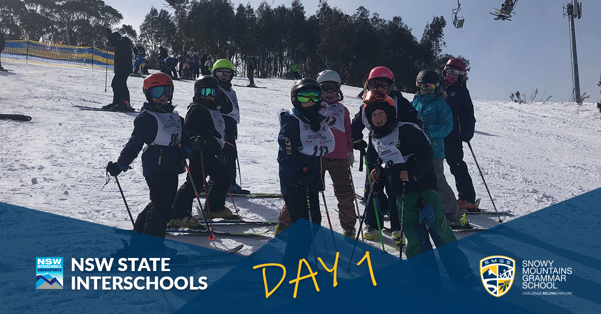 SMGS State Interschools Snowsports Day 1