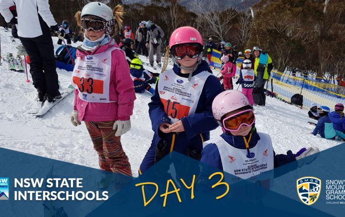 SMGS State Interschools Snowsports Day 3