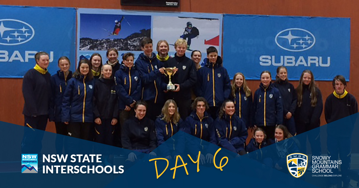 SMGS State Interschools Snowsports Day 6