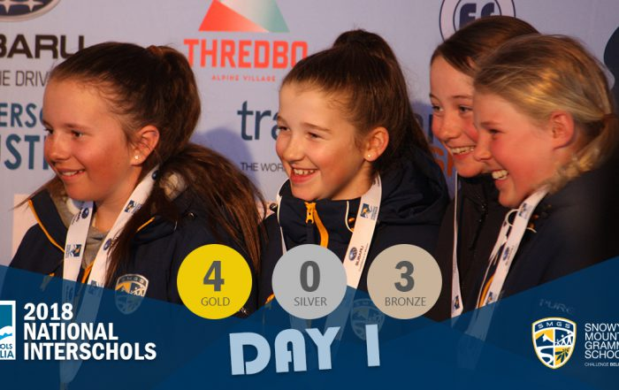 SMGS 2018 National Interschools Snowsports Day 1