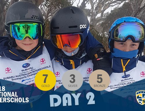 2018 National Interschools Snowsports – Day 2 Wrap-Up