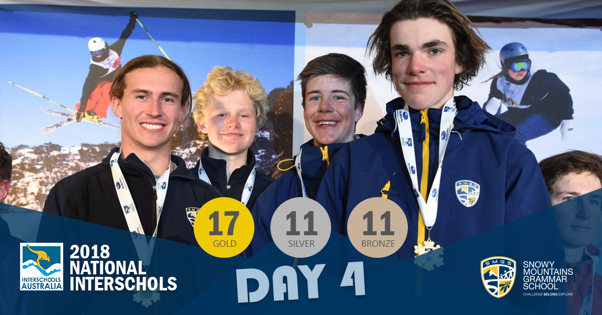 SMGS 2018 National Interschools Snowsports Day 4