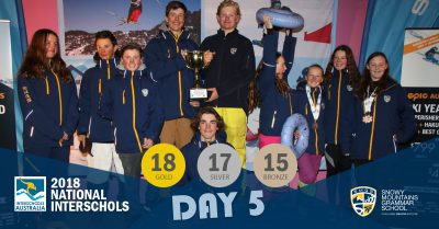SMGS 2018 National Interschools Snowsports Day 5
