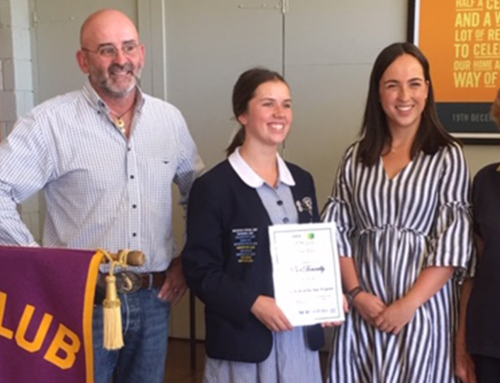 A fantastic day for students at the 2019 Jindabyne Lions Youth of the Year event