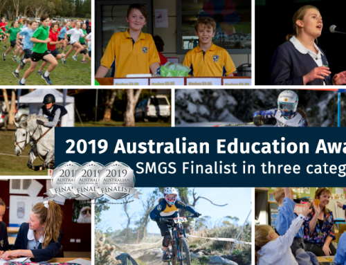 SMGS is finalist in three categories in the 2019 Australian Education Awards