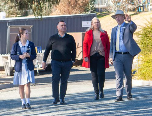 Deputy Premier visits Snowy Mountains Grammar School