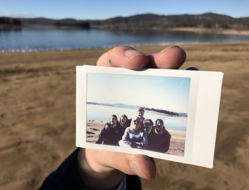 Stage 5 Elective Visual Arts Class finds inspiration on the shores of Lake Jindabyne