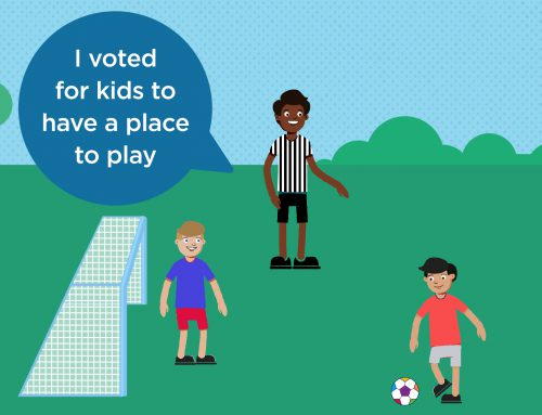 Multipurpose sports courts submission advances to second round in My Community Project – voting is now open!
