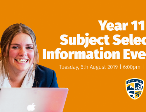 Year 11 2020 Subject Selection Information Evening