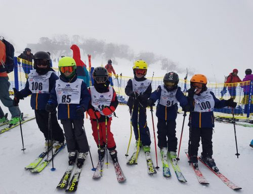 A Wild and Windy Day 1 of the 2019 State Interschools Snowsports Championships
