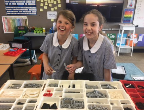 Year 3 and 4 begin their Lego Mindstorms adventure!