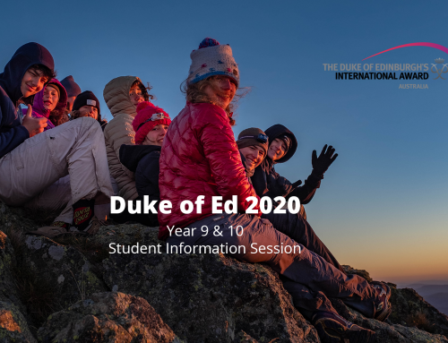 SMGS Duke of Ed 2020 Program