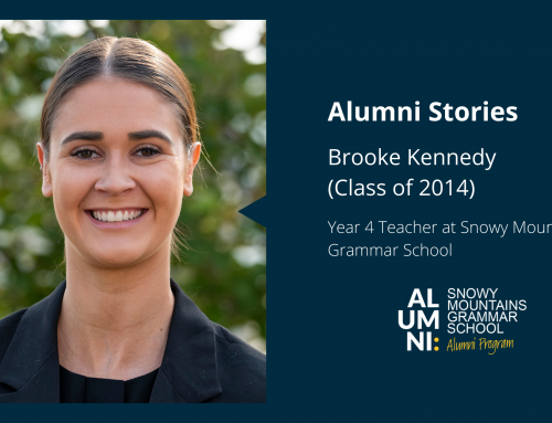Alumna, Brooke Kennedy – Inspiring the next generation of learners at SMGS