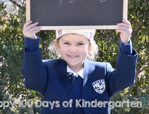 Happy 100 days of Kindergarten!