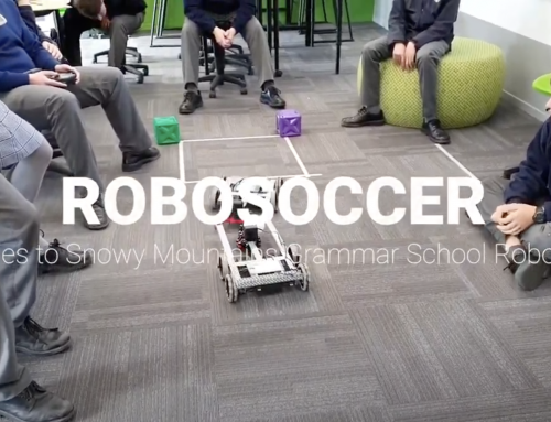 Robosoccer fun in the Year 9/10 Academies