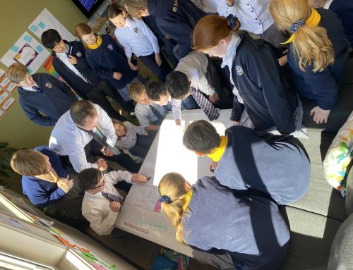 Junior School students explore the Deep Blue for National Science Week