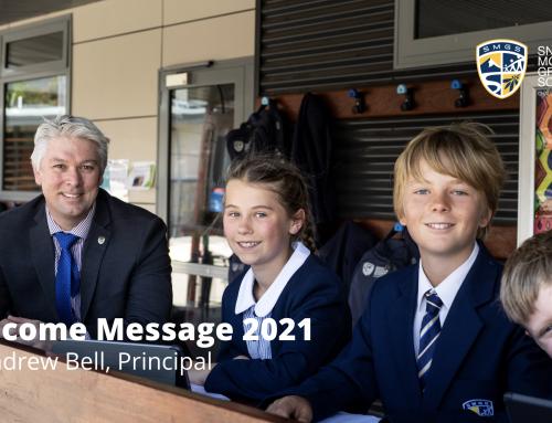 Principal's Welcome Message 2021