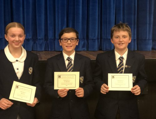 Rostrum Public Speaking Competition – Ruby Kite Advances to the Semi-Finals