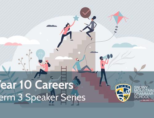 Year 10 Careers Term 3 Speaker Series